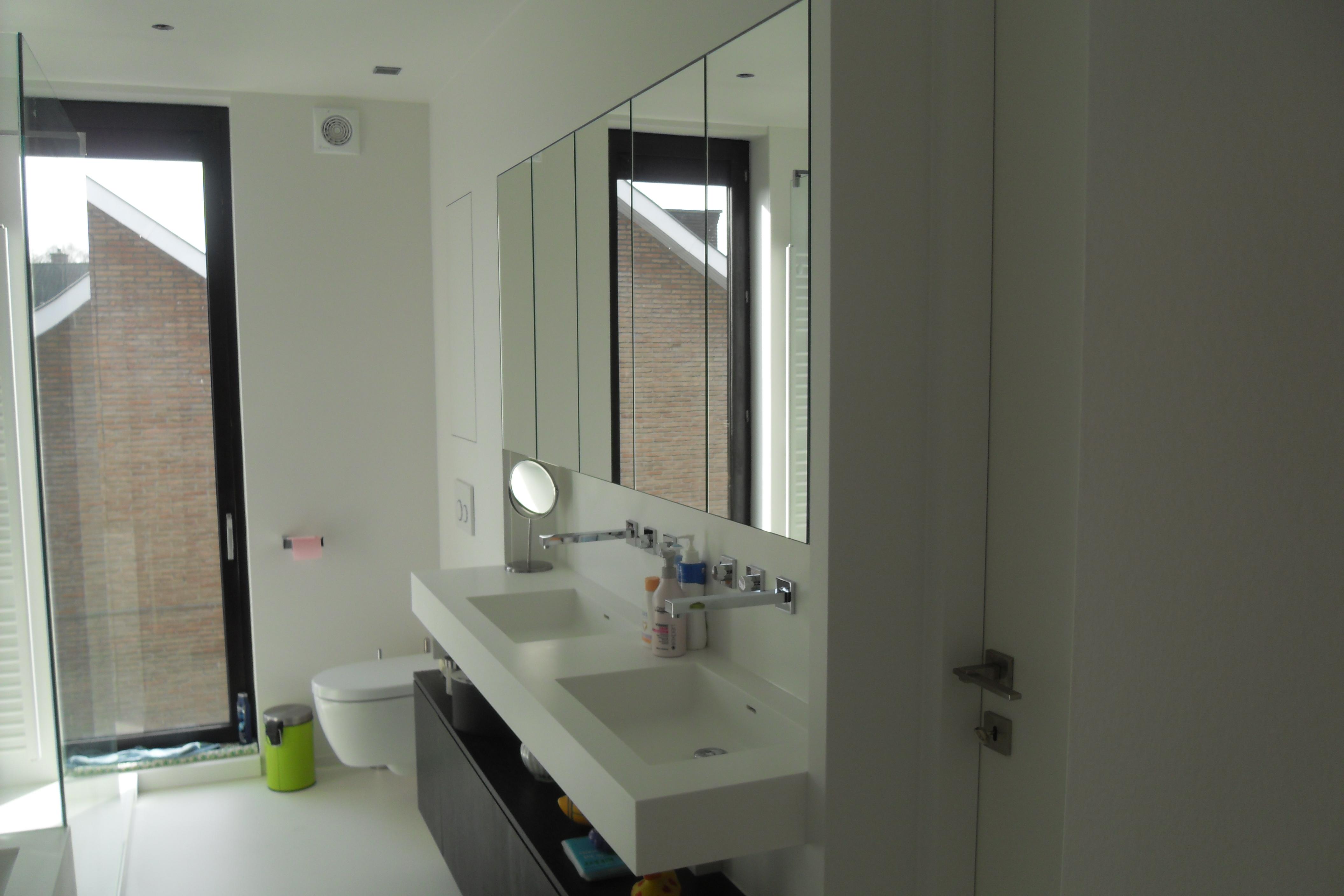 Hoogte Sierstrip Badkamer : Mooi inloopdouche met hoogte wastafel badkamer badkamermeubels